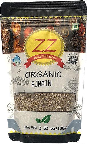 ZZ Organic Ajwain Seeds - 3.5 oz